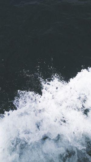 Blue sea Nature
