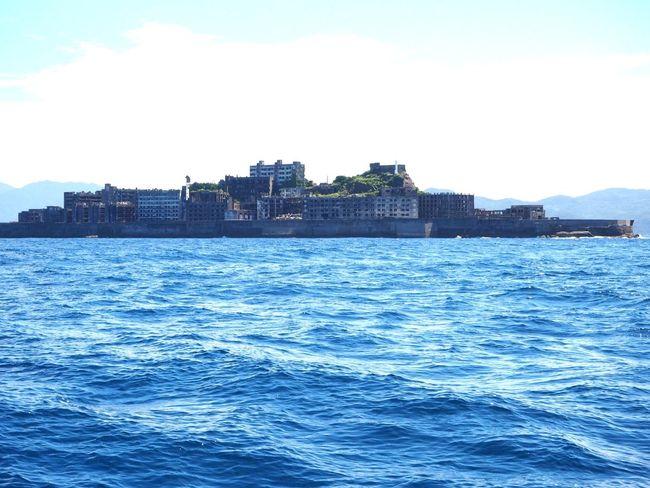 My dream comes true to see Battle Royale Scene !!! No People Architecture Abandoned Island Battleship Island Landscape 日本2017年 Nagasaki JAPAN Gunkanjima Hashima