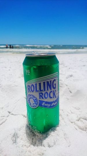 Relax Rolling Rock Beach Sand Sea