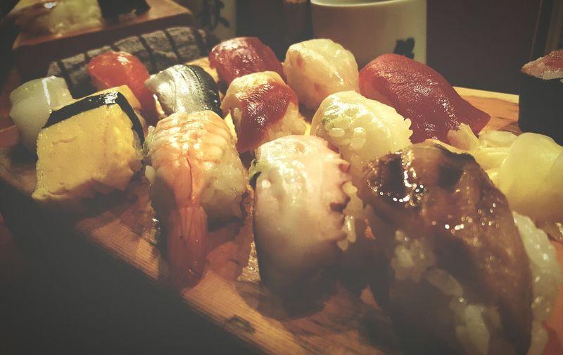 Raw Fish Sushi First In Japan 800yen