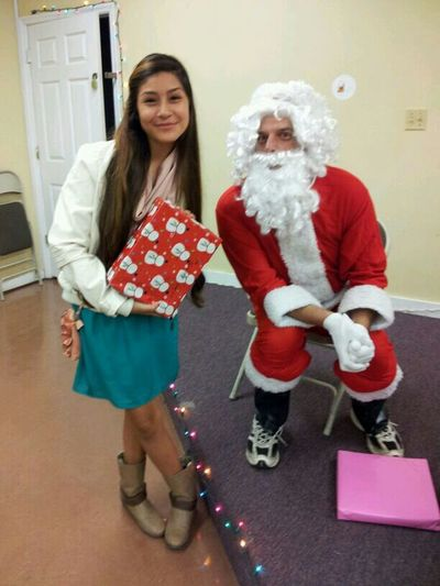 a little late but i met Santa!!!