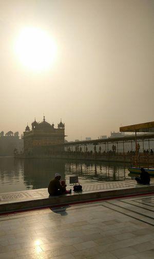 Golden Temple, Amritsar First Eyeem Photo EyeEmNewHere Eyemindia Early Morning EyeEmNewHere EyeEmNewHere