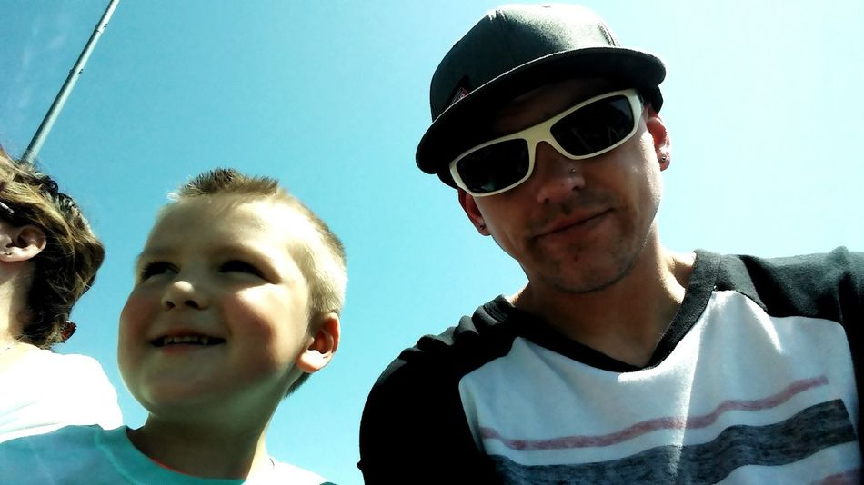 People Together Father & Son Father And Son Time Fatherandsonmoments Taking Photos Hanging Out That's Me Cheese! Enjoying Life Sunny Day