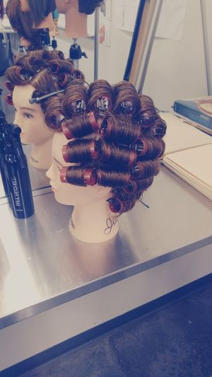Rollers First Eyeem Photo Roller Set Rollers Hair PAUL MITCHELL Pmts Pmtslex Cosmetology School