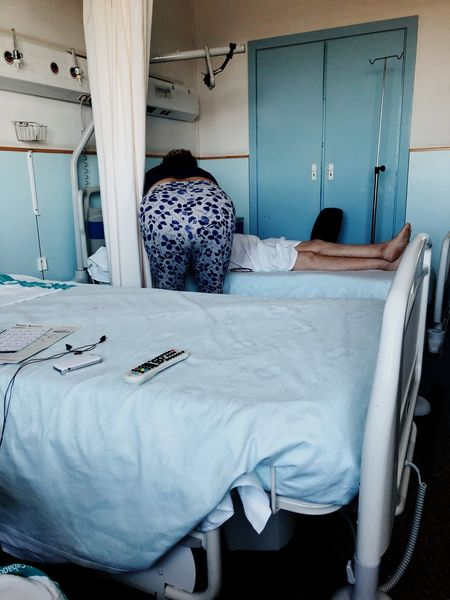 #hospital EyeEm Selects Furniture Bed Domestic Room Bedroom Indoors  Home Interior
