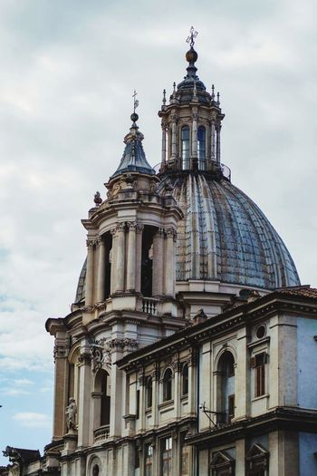 Architecture Dome Built Structure Sky Rome, Italy Cloud - Sky Architecture Religion PiazzaNavona Moving Around Rome