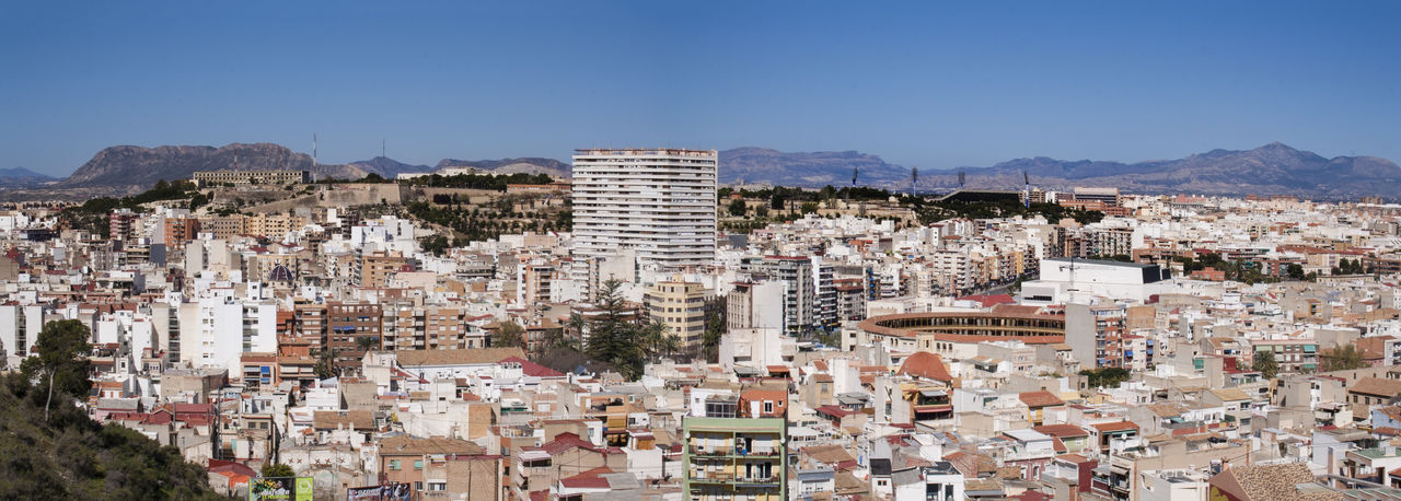 Alicante Architecture Building Exterior Business Finance And Industry City Cityscape Community Day No People Outdoors Panorama Sky SPAIN