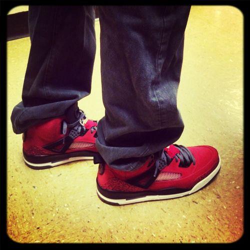 #KOTD Shoe Game A1 #spizikes #bull