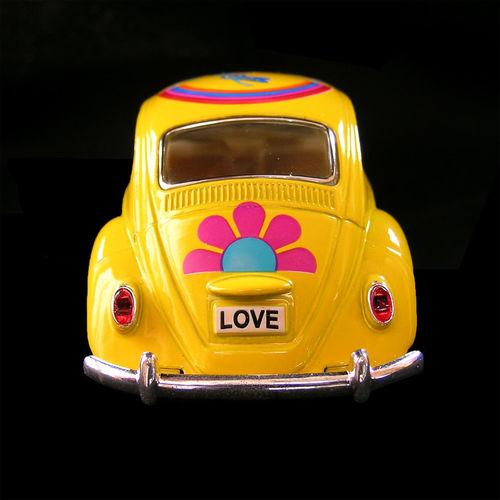 Car Yellow VW