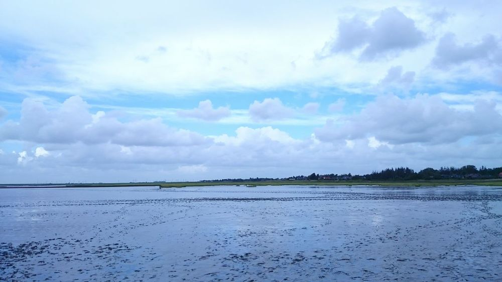 Mudflat Cloud_collection  Clouds OpenEdit Northern Germany
