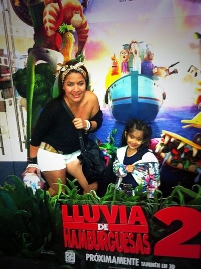 con mi princesa!!!!