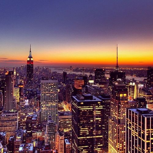 New York skyline Amazing Beautiful Wannagothere NYobsessed loveamericanlifestyle