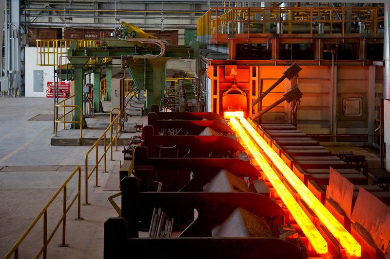 Interior Of Metal Industry