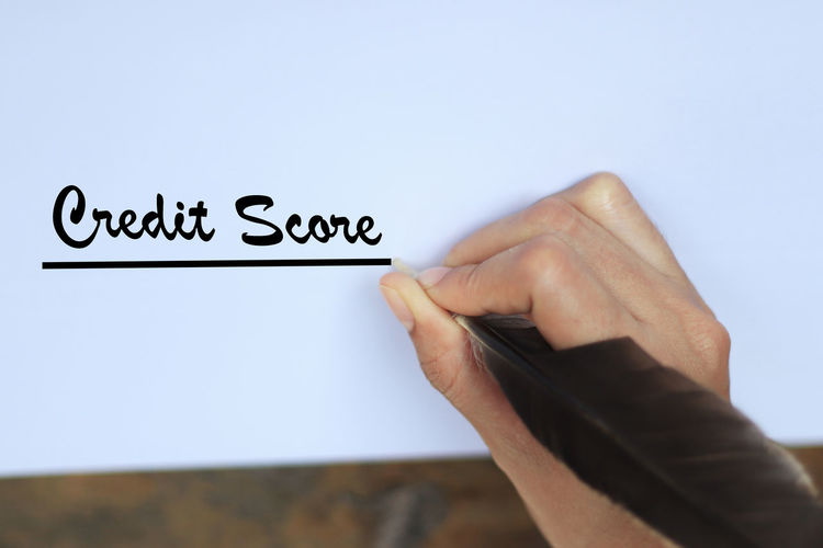 Credit Score On