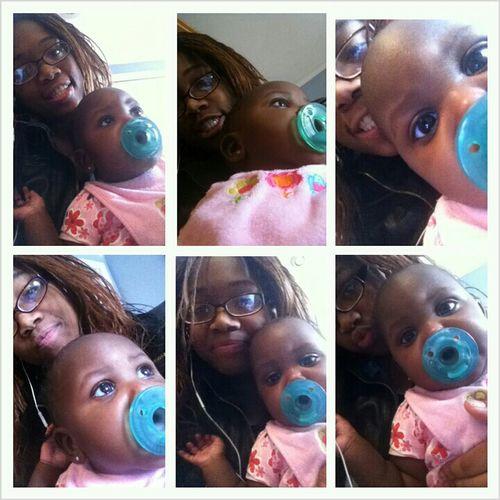 My Baby cousin & I . :))