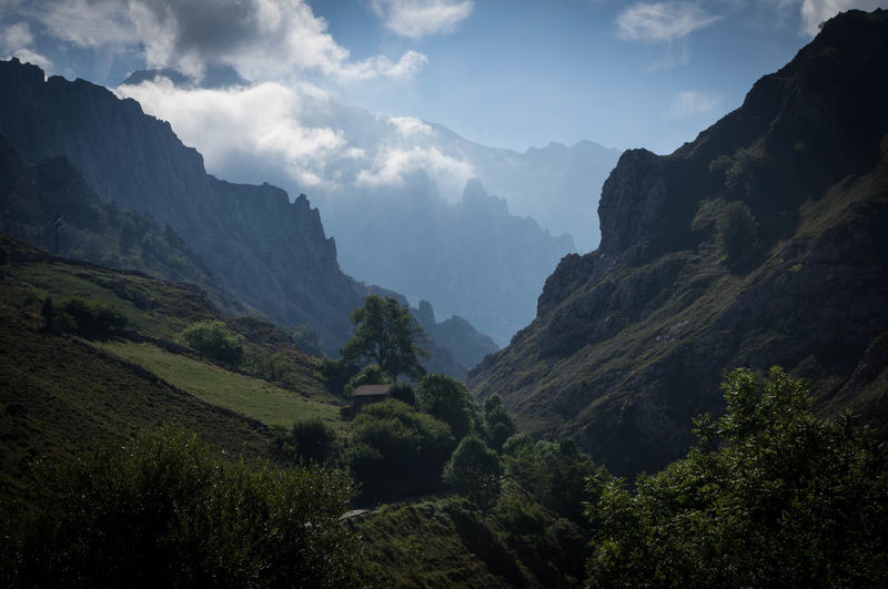 Arrival Beauty In Nature Day Health Spa Landscape Mountain Mountain Range Nature No People Outdoors Picos De Europa