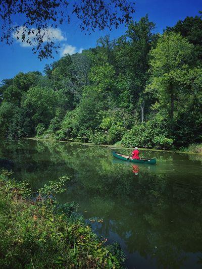 Kayaking in green Green Kayaking Cycling Around Riverside C&o Canal Kayak Green Green Green!  Green Water Summer Views Untold Stories