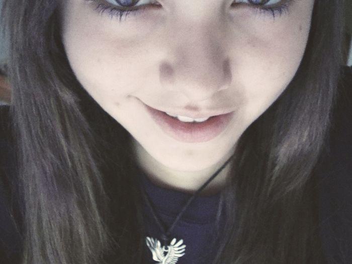 Hi! That's Me Smile C: White Teeth Beauty Smile Cute :)