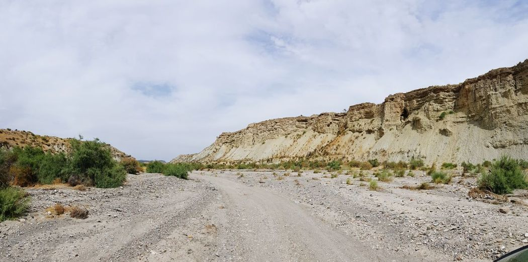 Canyon Tabernas Desert Cowboy Style Mountain No People Lost Let's Go. Together.