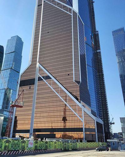 Москва столица город здание москвасити Moscowcity архитектура