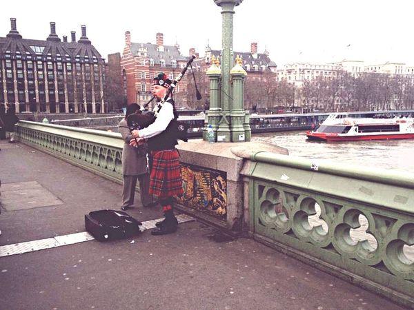 London 2012 ?? London England Uk Great Britain Scotish Music Bagpipe Scotland