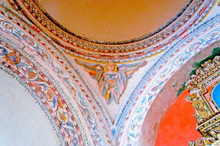 👼🏼 Low Angle View Angels Angel Gold Colored Indoors  Architecture Ancient Cajamarca-Perú EyeEm Best Shots Cúpula EyeEm Gallery EyeEmNewHere
