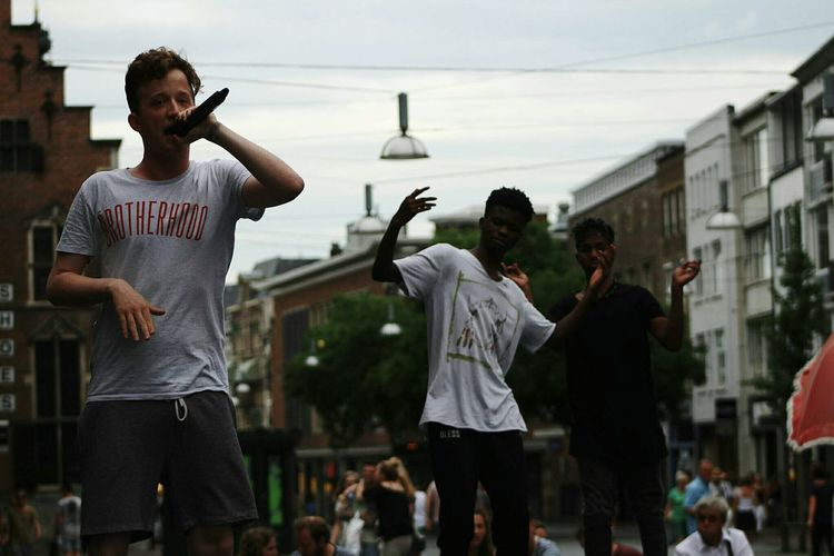 Than two boys spontaneously came on stage to support this young rapper Young Adult Sport Adult Lifestyles Young Men People Adults Only Arts Culture And Entertainment Skill  Fan - Enthusiast Only Men Young Women Outdoors Crowd Day Riot Breakdancing Helloworld Live For The Story EyeEmNewHere Music The Photojournalist - 2017 EyeEm Awards WeekOnEyeEm The Street Photographer - 2017 EyeEm Awards Focus On Foreground