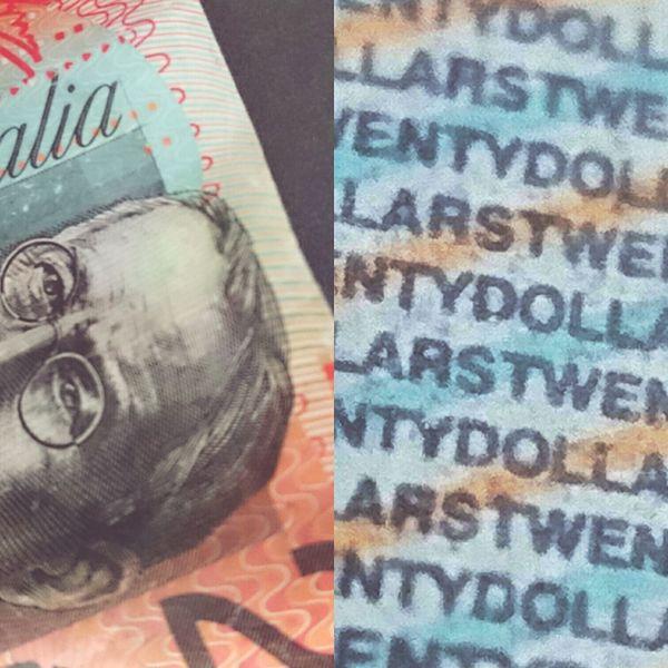 Twenty Australian Dollars Maximum Closeness Macro Photography Macro Money