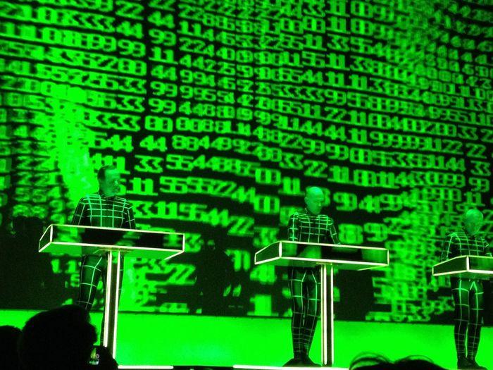 Kraftwerk Neue Nationalgalerie Berlin Konzert 2015  Tour De France
