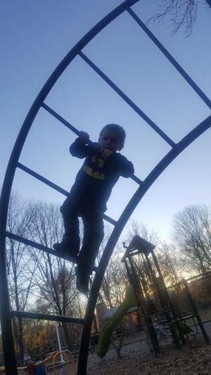 Outdoors Fun My Son ❤ Autumn Boy My Children My Life Boyhood Childhood Playground Structure Playground Playground Fun With The Kids Playground Fun Lambertville Nj Lambertville, NJ