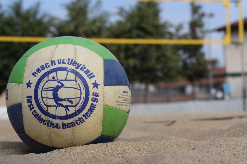 Sand Beach Outdoors Volleyball Beachvolley Sun Summer Sky
