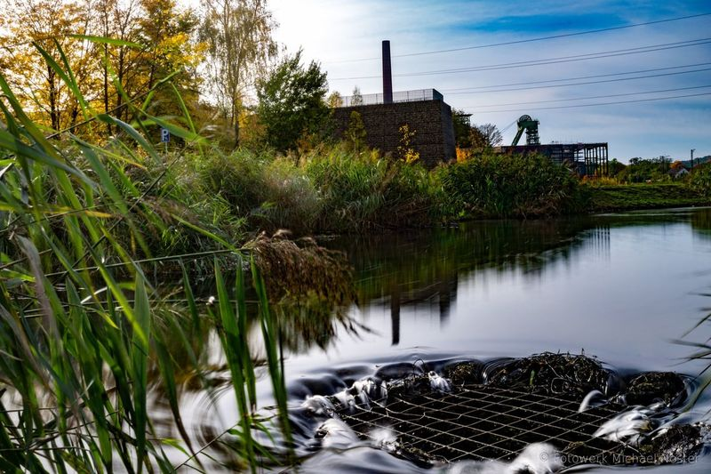 Water Tree Outdoors No People Nature Long Exposure Industrial Landscapes
