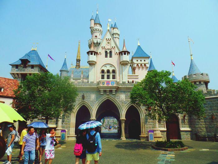 HongKong Disneyland Castle Fantasy