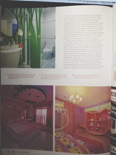 Hello_Kitty Interior Interior Design Jheffryswid Design
