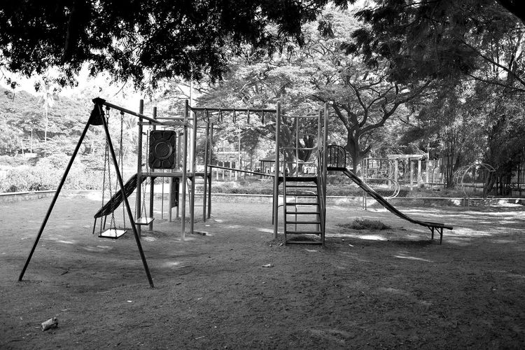 Park Plant Nature Day Outdoors Tree Playground Park Empty Park - Man Made Space Slide Absence Childhood Outdoor Play Equipment Slide - Play Equipment Architecture Grass Swing Built Structure Jungle Gym Bangalore Ulsoor Lake