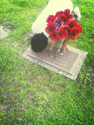 Yesterday At My Grams Grave ! I Miss Her , I Wish She Could See Tha Young Man Im Becoming .. If She was Here , I Wouldnt Be Doing Alot Of Thing I do Now !