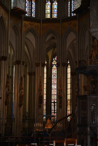 Hello World Beautifulthings Beautiful View Travel Town Centre Germany Cathedral Fresco Wall Painting Oldthings