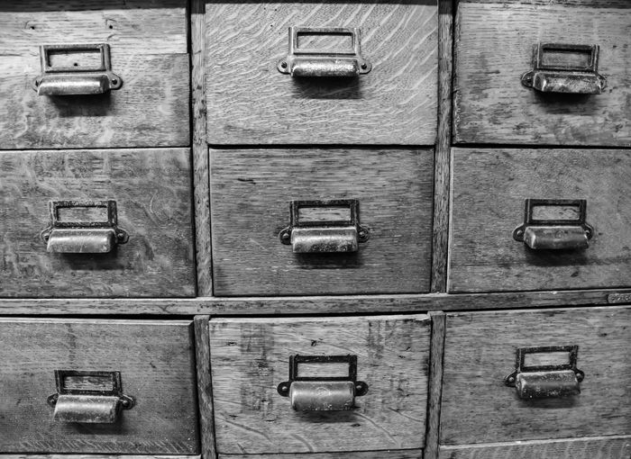 chest of storage drawers Bradley Olson Bradleywarren Photography Backgrounds Background No People Room For Text Room For Copy Copy Space Copyspace Vintage Old Weathered Weathered Metal Weathered Wood Old-fashioned Antique Full Frame Safety In A Row Wood - Material Repetition Security Protection Drawer Indoors  Order Close-up Pattern Metal Storage Compartment Textured  Side By Side Locker Storage Compartment