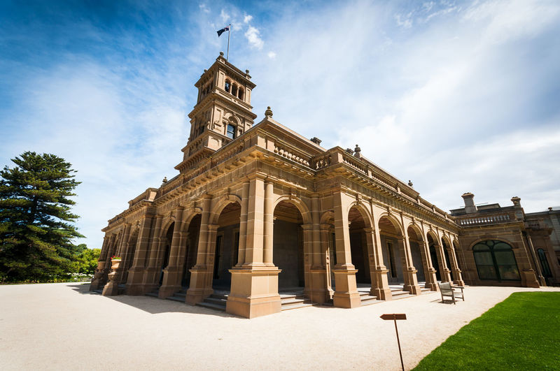 Werribee Mansion City History Cityscape Sky Architecture Building Exterior Cloud - Sky Built Structure First Eyeem Photo