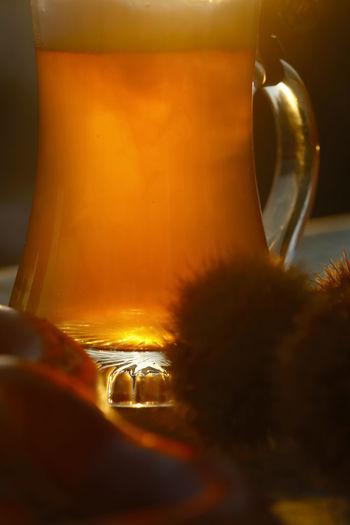 Hefeweizenbier im Herbst,Germany Autumn Autumn Collection Autumn Colors Beer Bier Erfrischung Food And Drink Getränk Hefeweizenbier Hefeweizen🤗 Weissbier Beer - Alcohol Beer Glass Beer Time Biergarten Food Garden Garten Glass Oktober Park