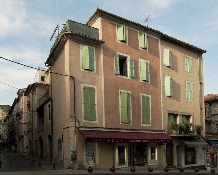 Anduze Architecture Building Exterior Built Structure Cévennes Day House Front No People Outdoors Small Town South Of France Street