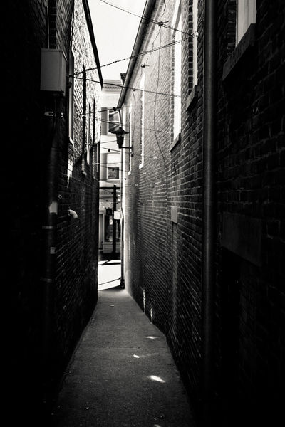 Bw Bw_collection Bnw Bnw_collection Black And White Photography Alley Annapolis Maryland Annapolis Brick Monochrome Photography Black And White Friday