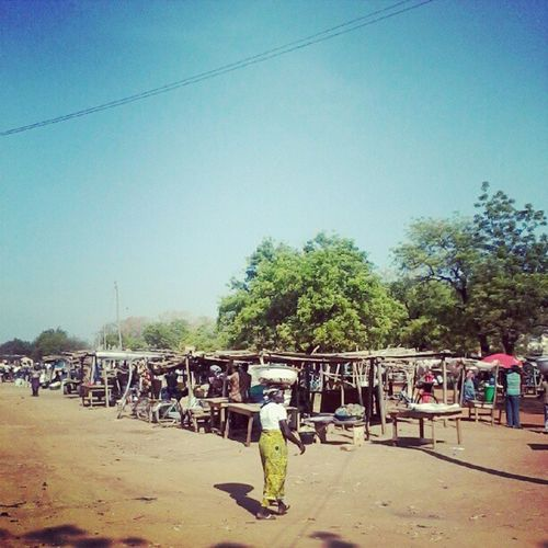 Market day in the sun Navrongoinstagram Ghana360