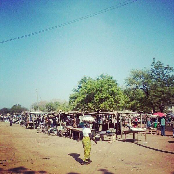 Market day in the sun Navrongoinstagram Ghana360