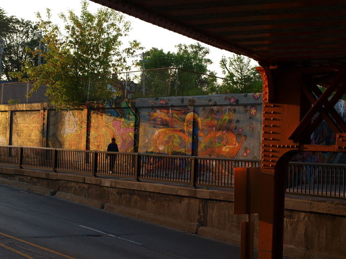 Bridge Architecture City End Of A Long Day Graffiti On Bloor St Bridg Outdoors Sunlit Graffiti Walking In Sunset Covered Graffiti Warm Goldenlight W