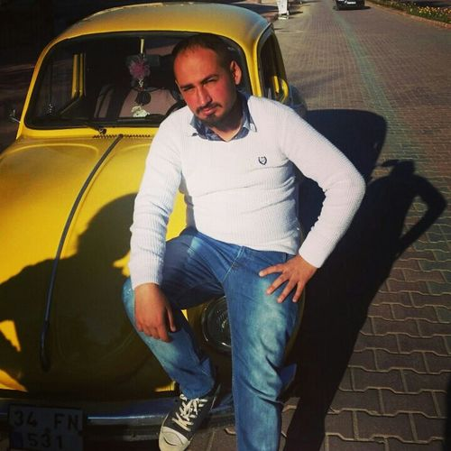 Woswos Car Yellow Fantastic Wv 1974 Selfie ✌