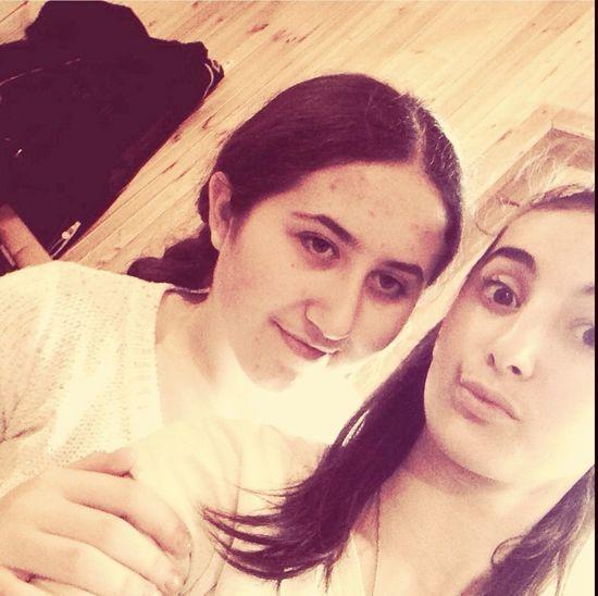 Я с подругой подруга Люблю тебя девочка моя! Love ♥ I Love You ! мой день рождение