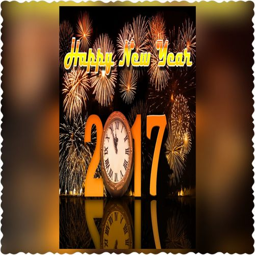 Text Communication Clock Day Relaxing Happy Enjoying Life Portrait Taking Photos Color Portrait Multi Colored Holiday - Event Happy New Year 2017 Silvester Day Silvester Night Happy New Years  Silvester