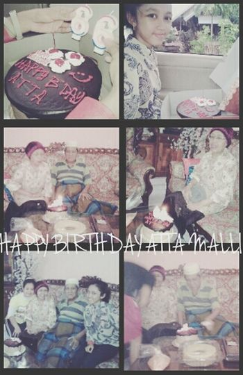 selamat ulang tahun ATTA, best wishes for you, Allah bless you. weLOVE you :***** {} Taking Photos