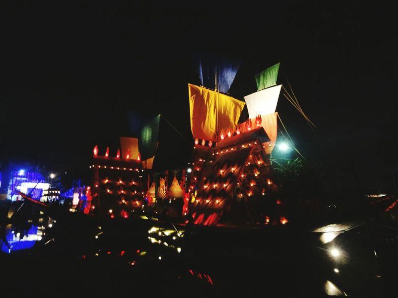 Altars Pandals Durgapuja Madurga Howrah